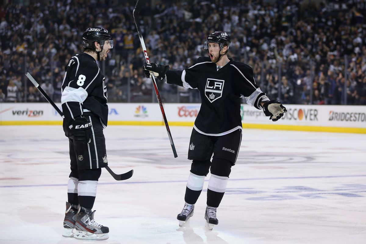 Jake Muzzin using his gaping mouth to suck money from the Kings