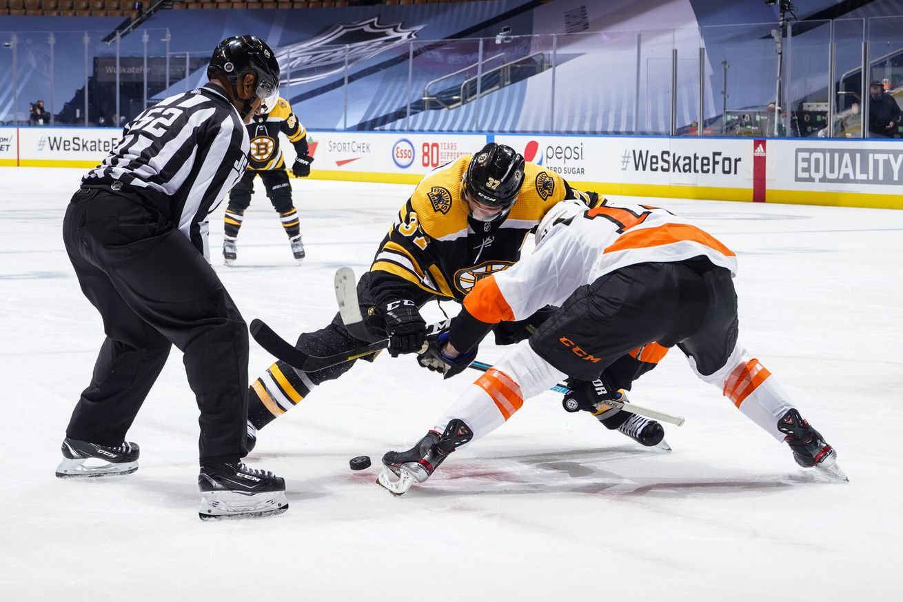 Philadelphia Flyers v Boston Bruins - Game One