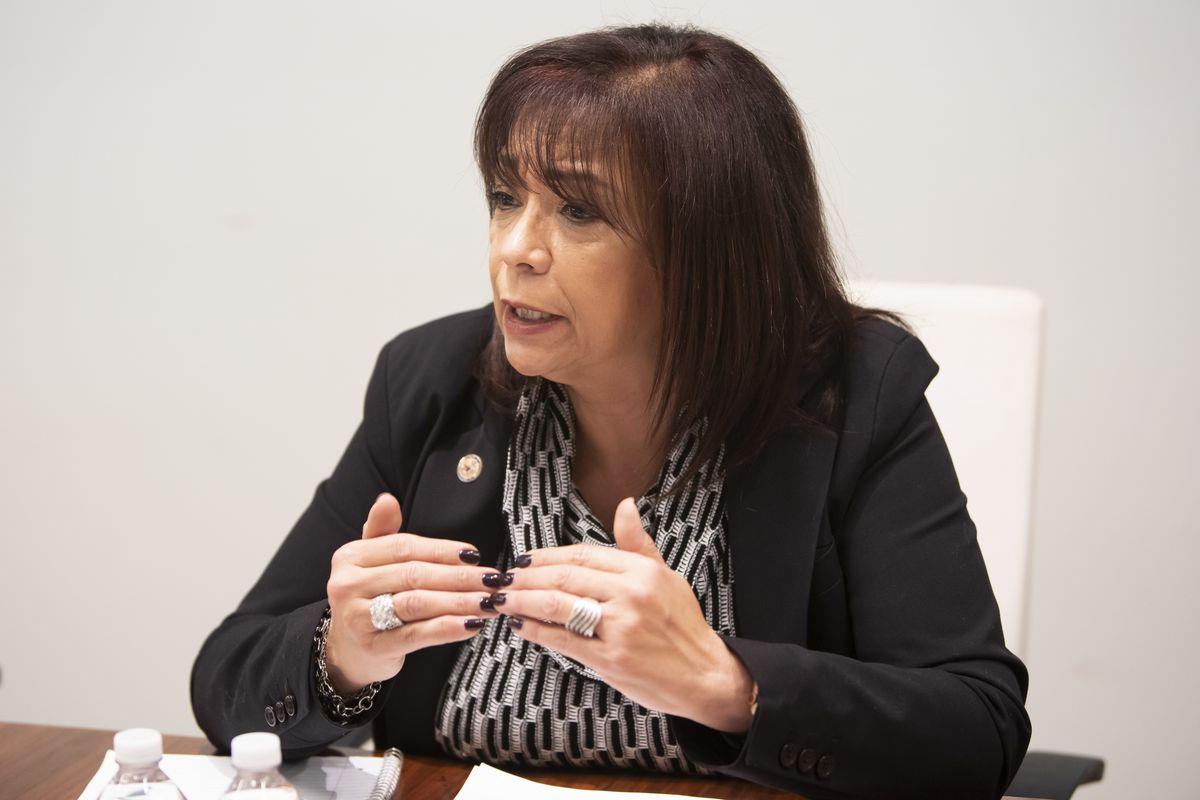 State Sen. Iris Martinez.