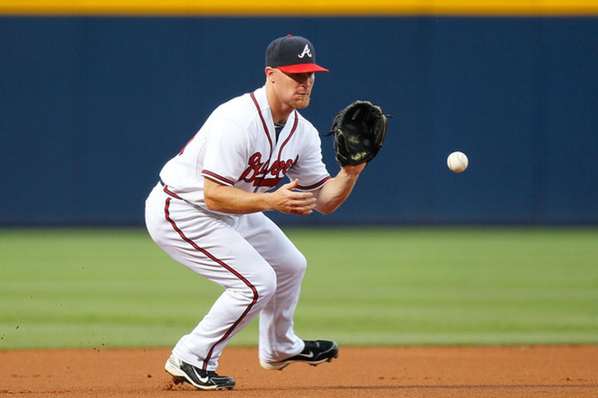 Brooks Conrad, the unfortunate poster child of the bad defense of the 2010 Braves.