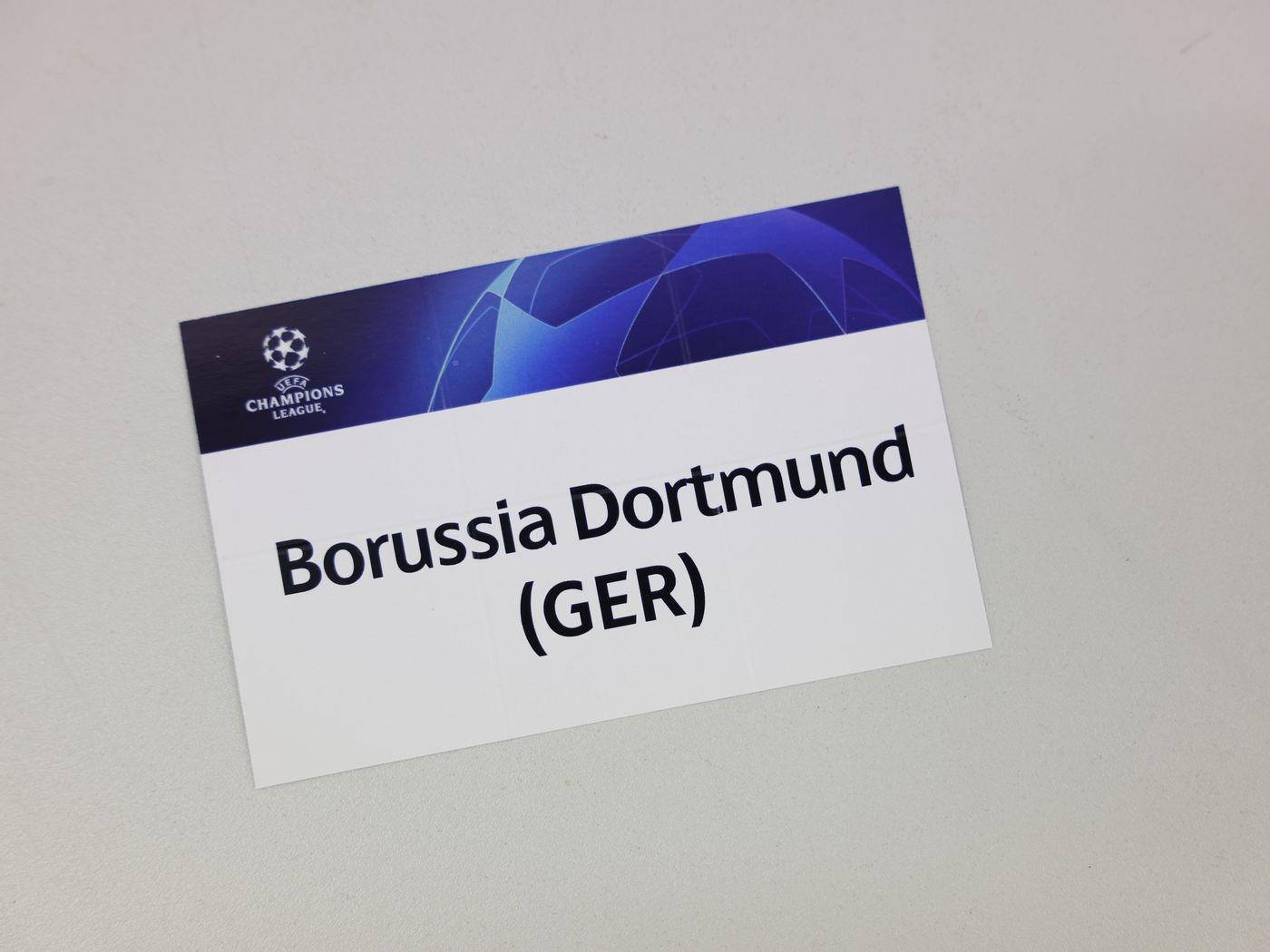Borussia Dortmund Draw Manchester City in the Champions League  Quarterfinals (Update) - Fear The Wall