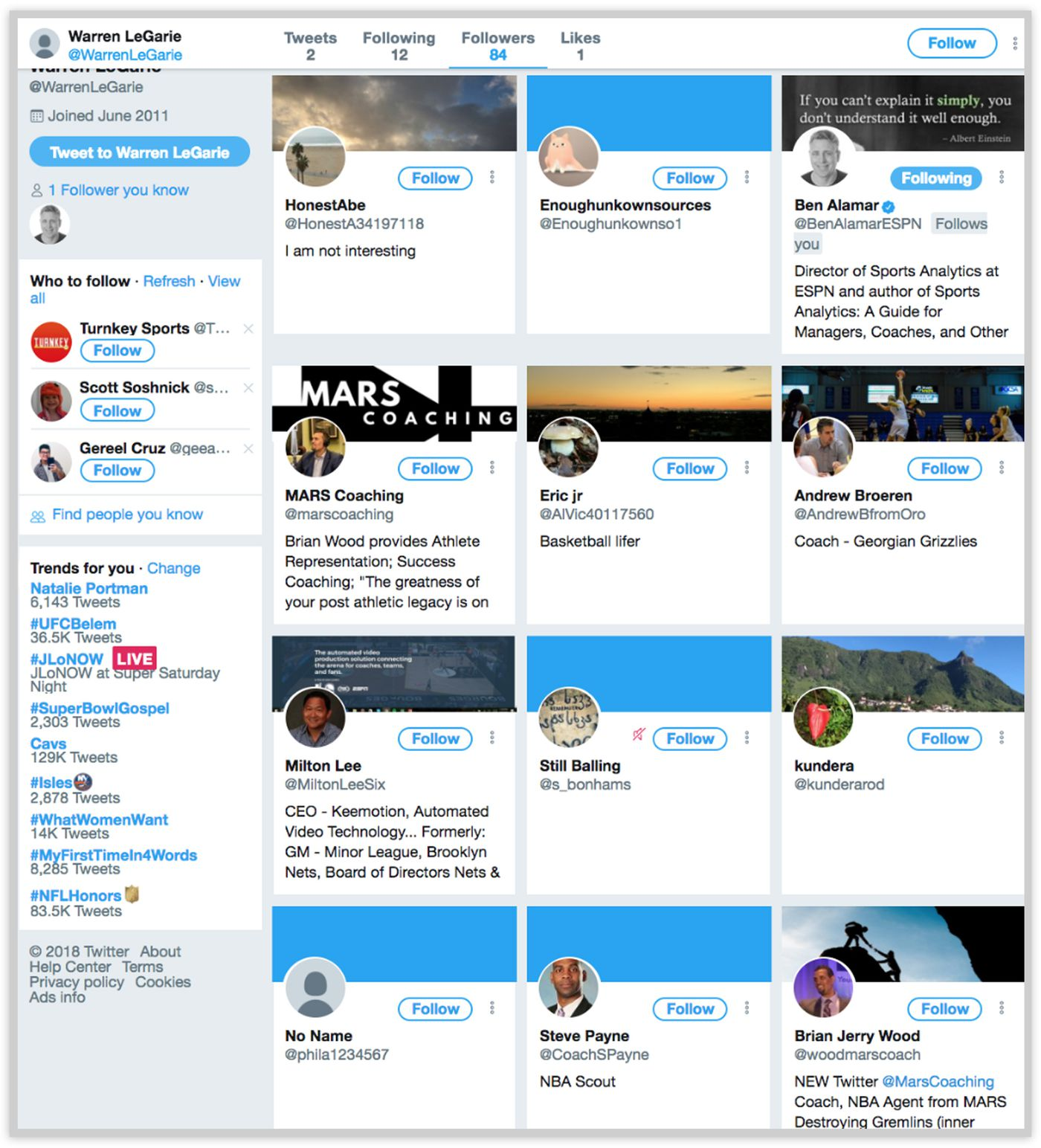The Curious Case of Bryan Colangelo and the Secret Twitter Account