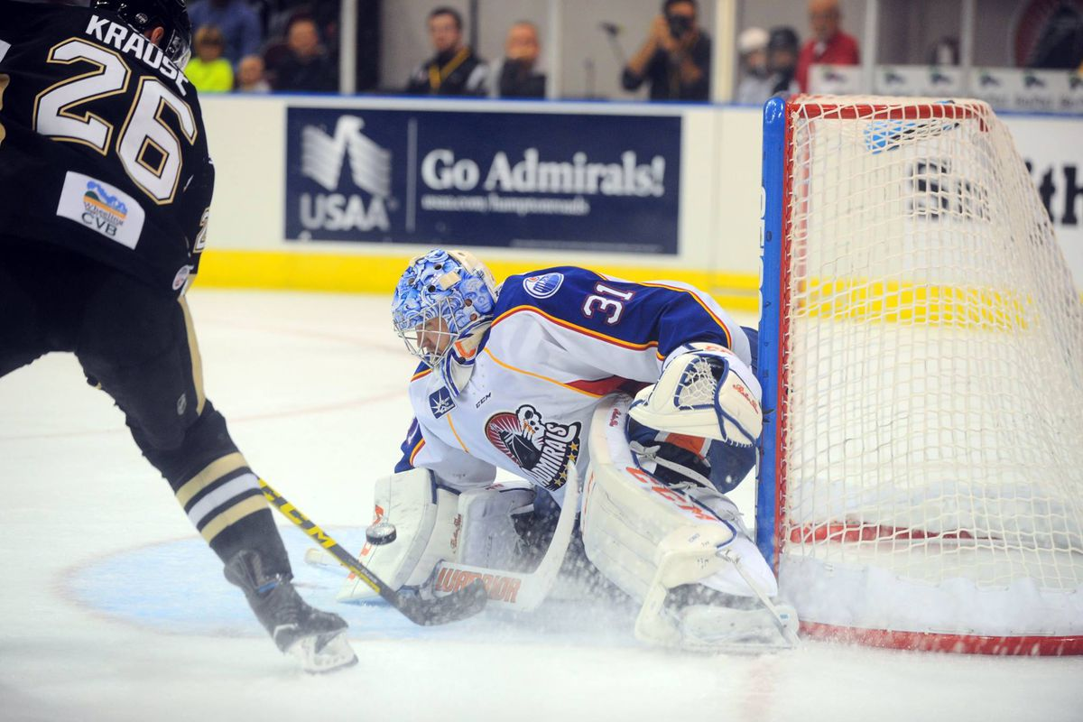 Admirals' netminder Ty Rimmer was recently named the CCM ECHL Goaltender of the Week for Nov. 30 - Dec. 6.