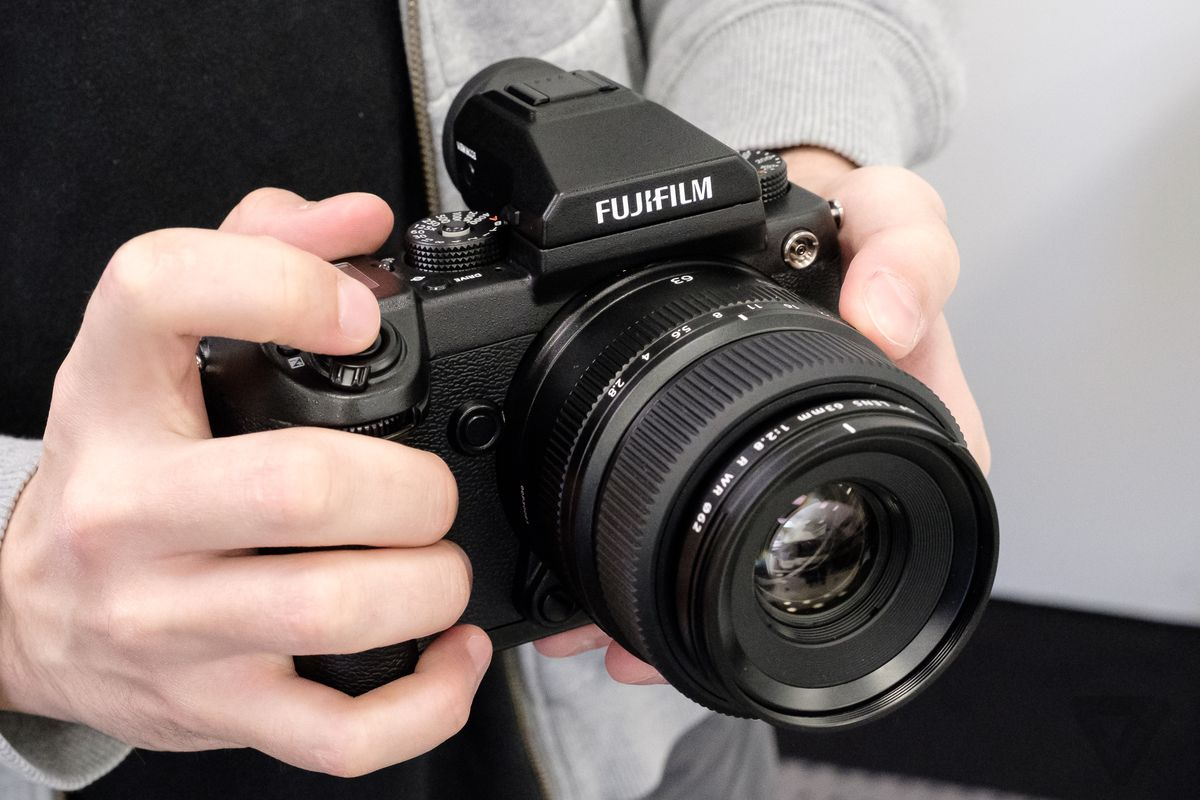 Fujifilm's first medium-format mirrorless camera arrives