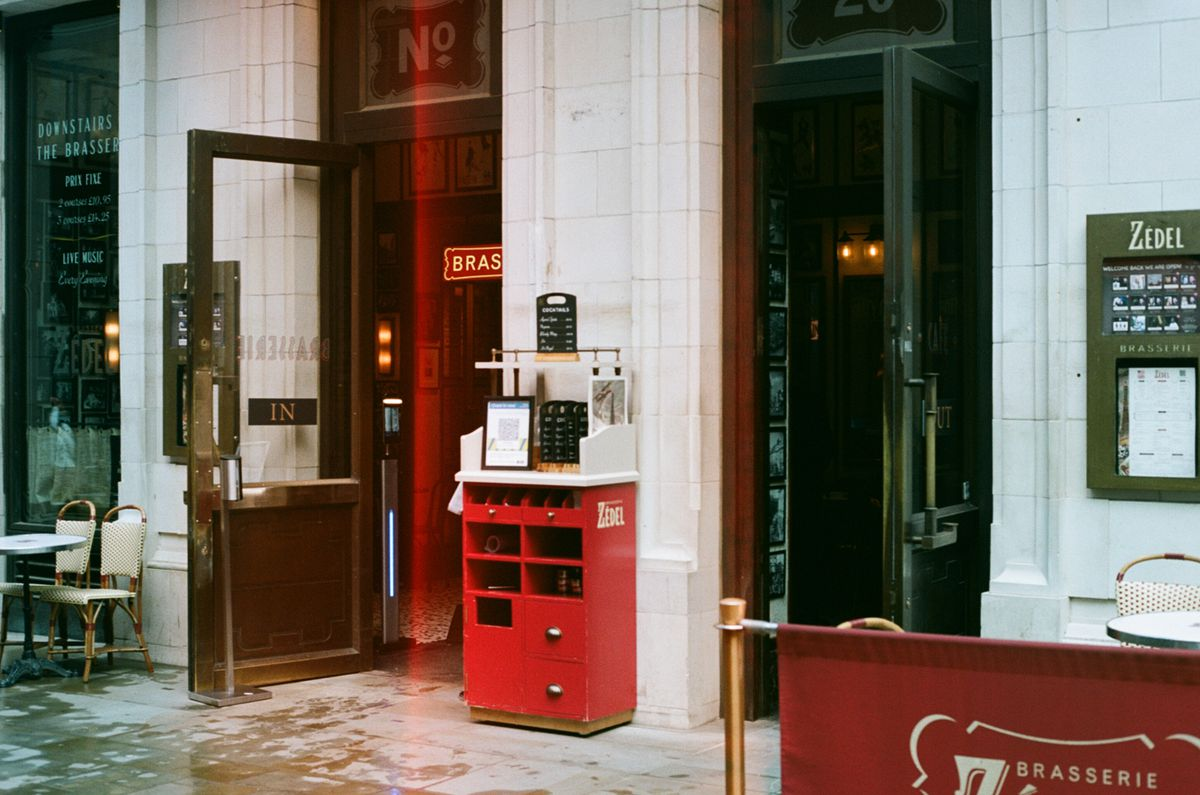 The doors of Brasserie Zedel in Soho are open once more