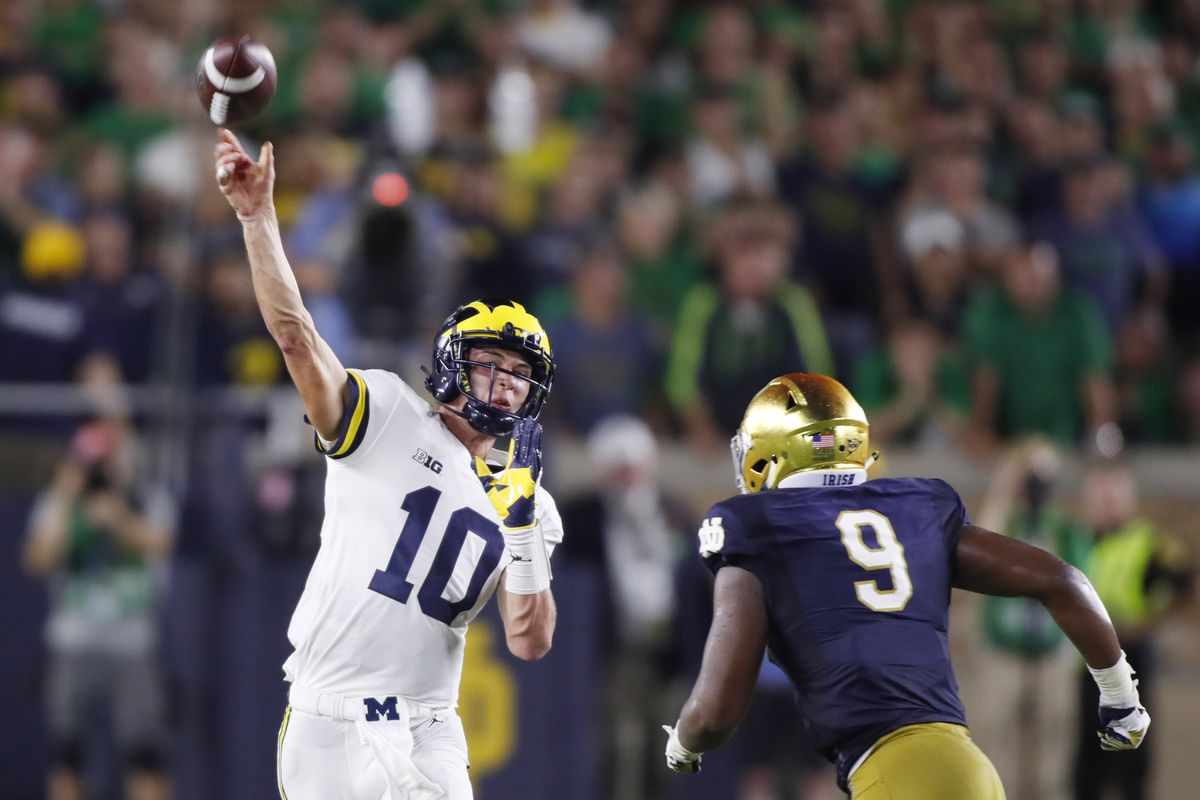 Out of the Blue podcast michigan football