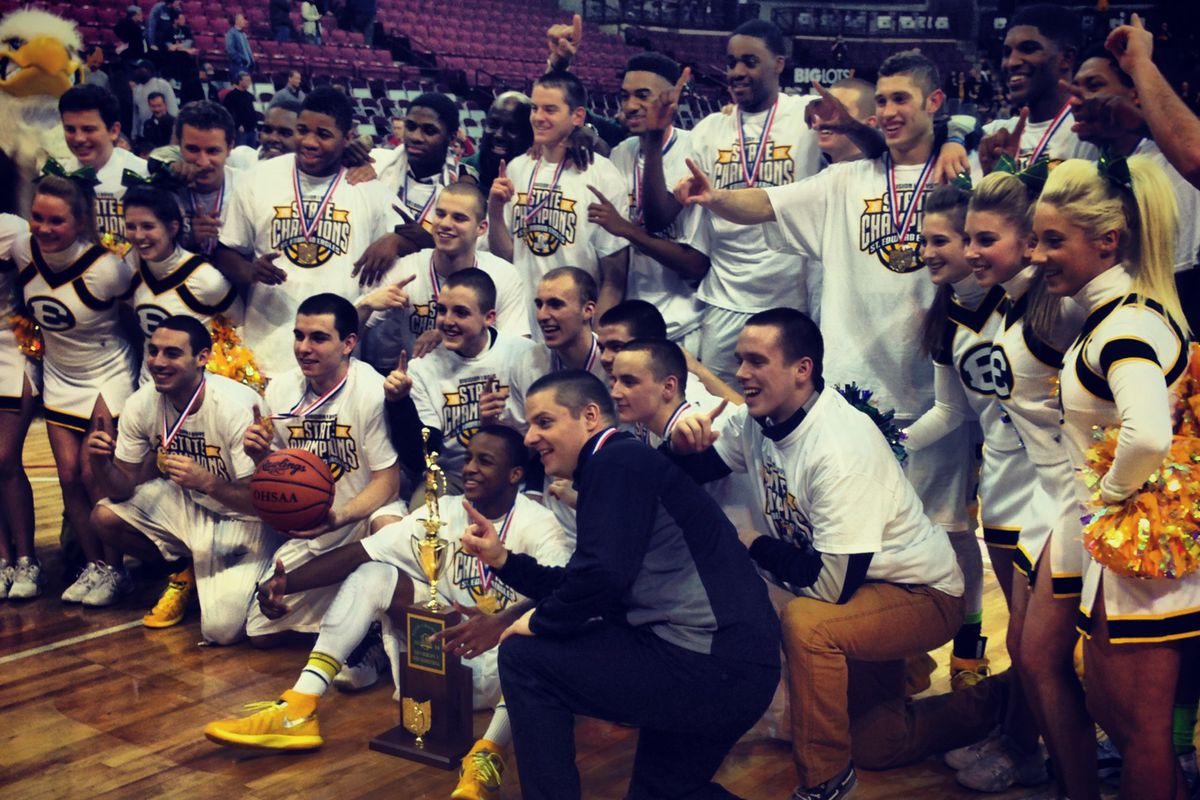Lakewood St. Edward won its second state championship in program history on Saturday over Upper Arlington.