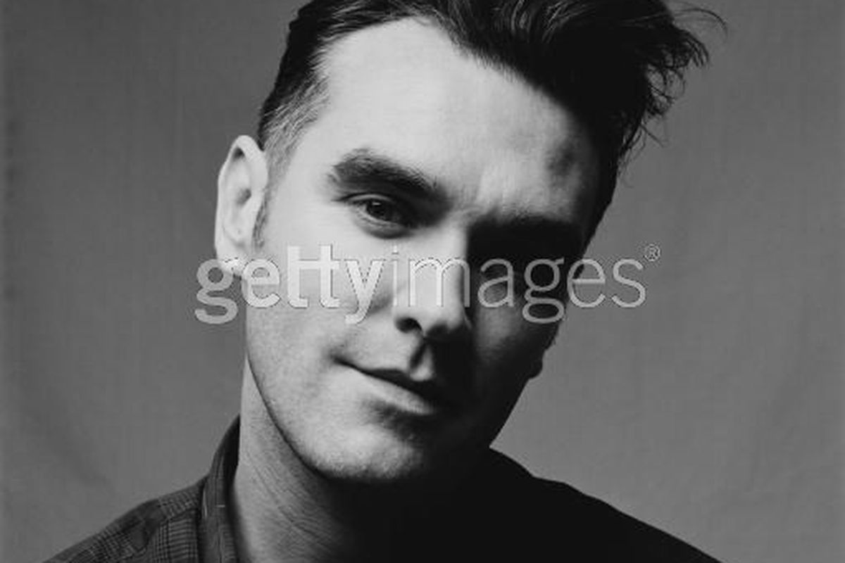 Here is Morrissey's face.....via getty images