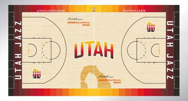 watch 5c64c 109ac Utah Jazz deliver Christmas gift to state by unveiling new ...