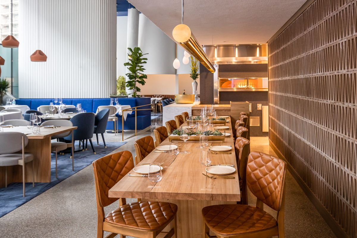 The communal chef's table at Imperfecto will only have six seats to start