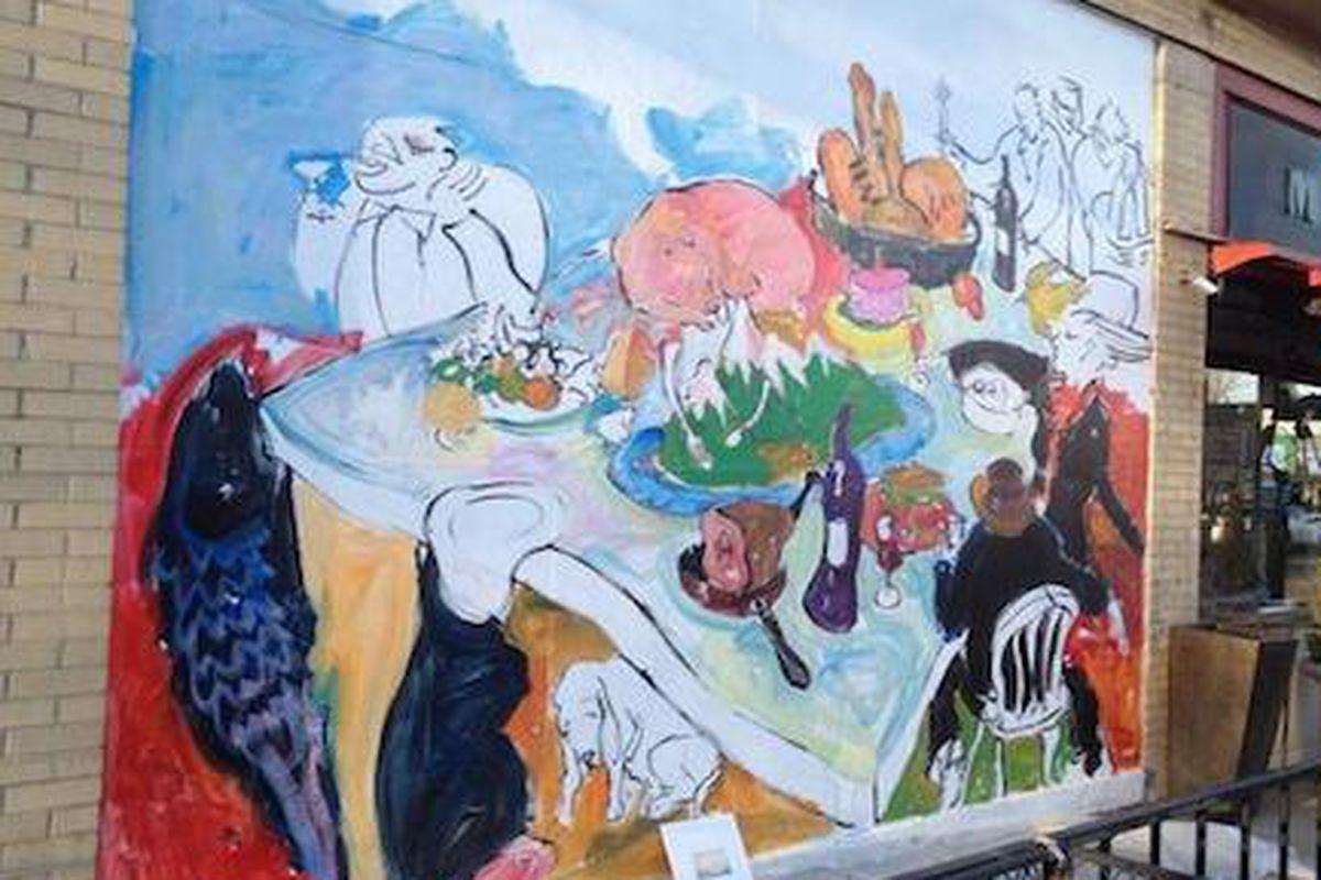 Salt & Grinder Mural