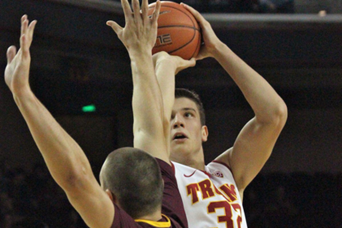 Nikola Jovanovic's play is key for USC.