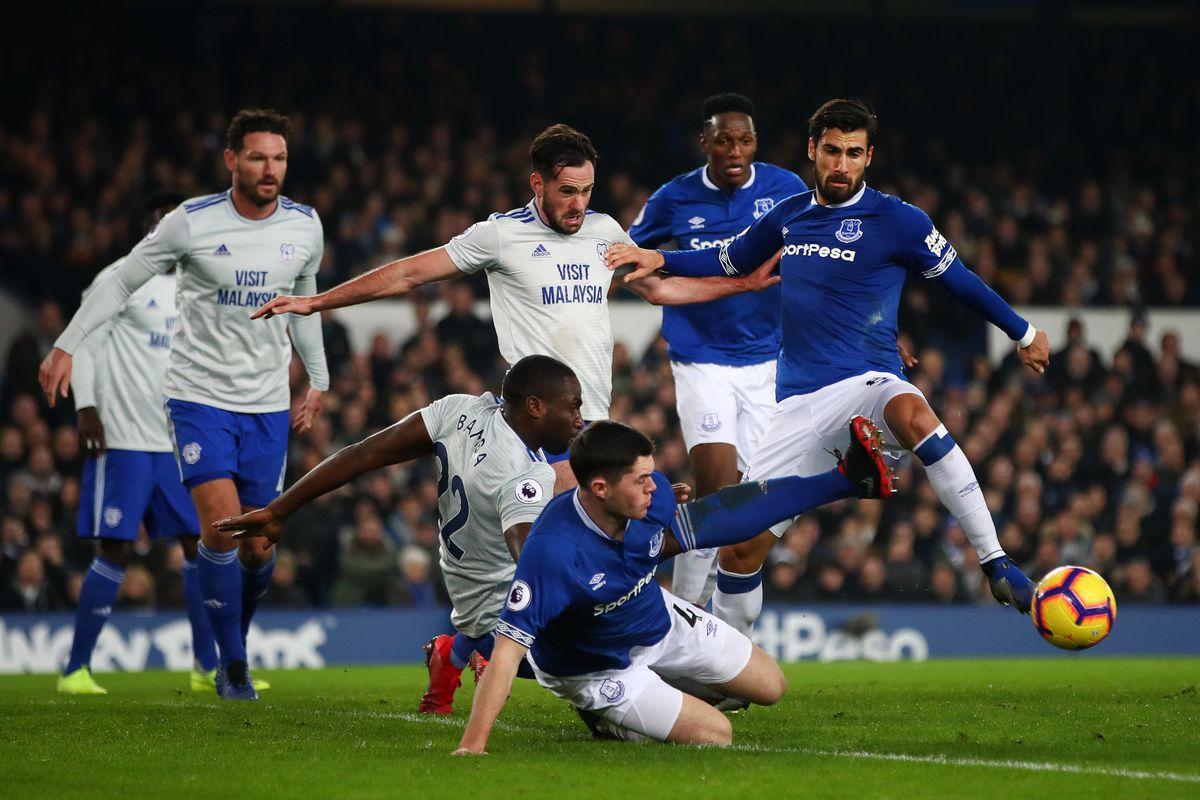 Everton FC v Cardiff City - Premier League