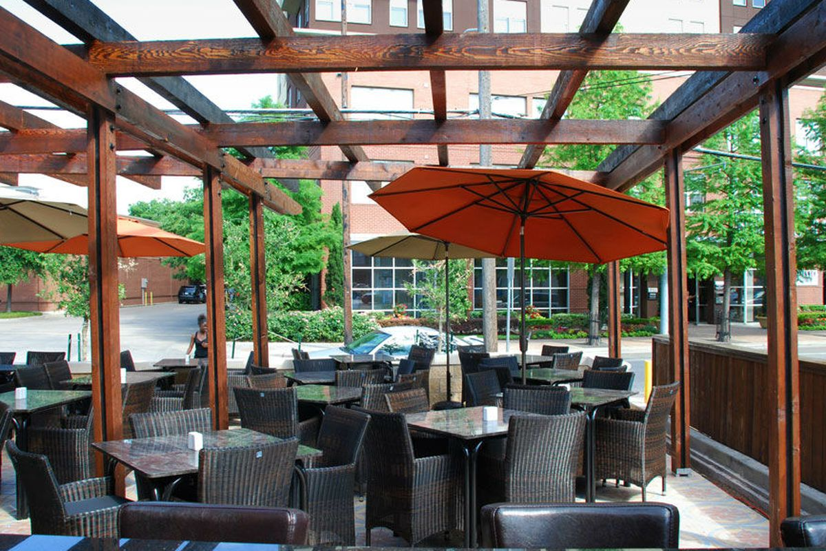 That's an awfully nice patio.
