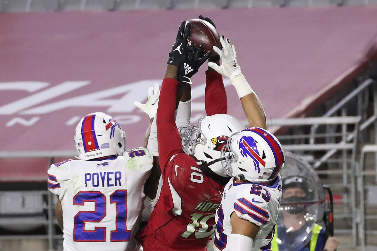 Prayers answered as Kyler Murray delivers a Hail Mary to DeAndre Hopkins  for a miracle Arionza Cardinals win - Revenge of the Birds
