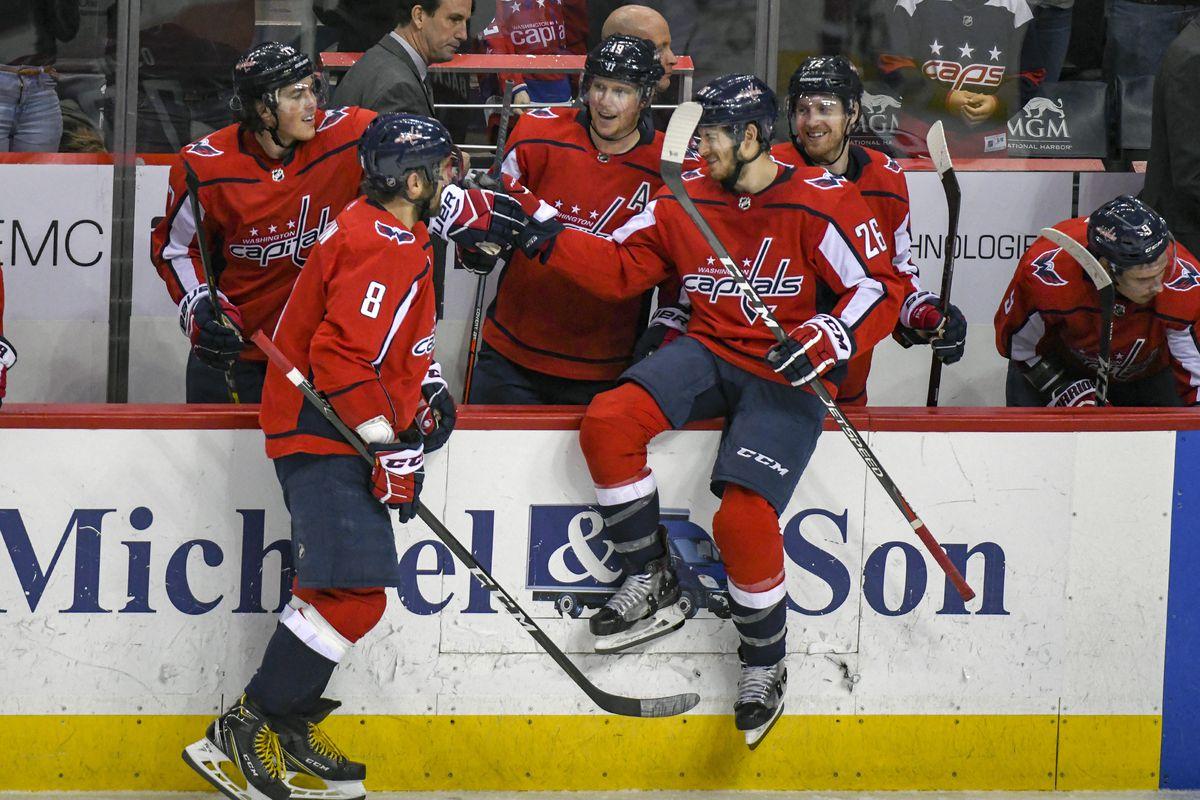 NHL: DEC 11 Red Wings at Capitals