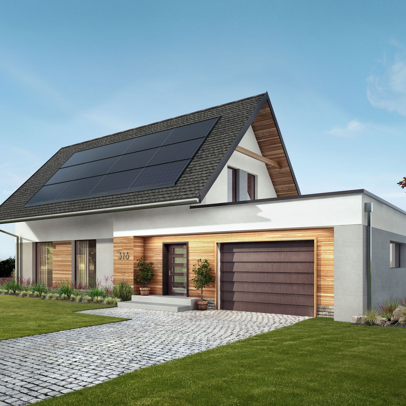 Solar Roof Now Offered By Standard Industries Through Gaf Energy Curbed