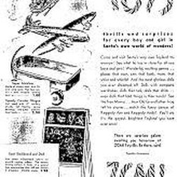 This ZCMI Christmas toy ad from just before World War II was aimed at young people. It ran Nov. 29, 1940.
