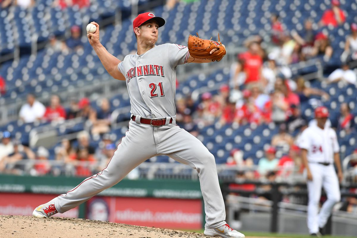 MLB: Game One-Cincinnati Reds at Washington Nationals