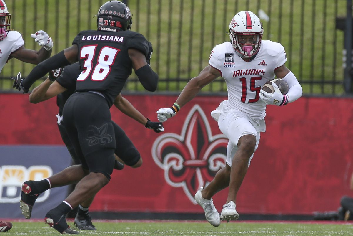 COLLEGE FOOTBALL: NOV 14 South Alabama at University of Louisiana-Lafayette