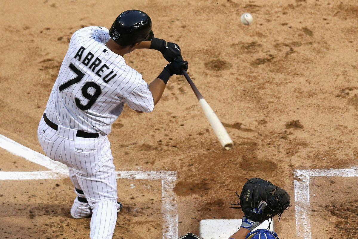 Our first look at Jose Abreu
