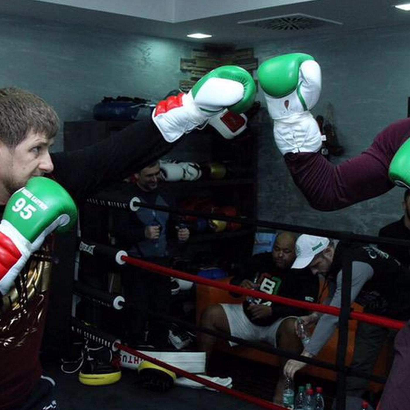 Chechen crime boss linked to Kadyrov opens boxing gym in