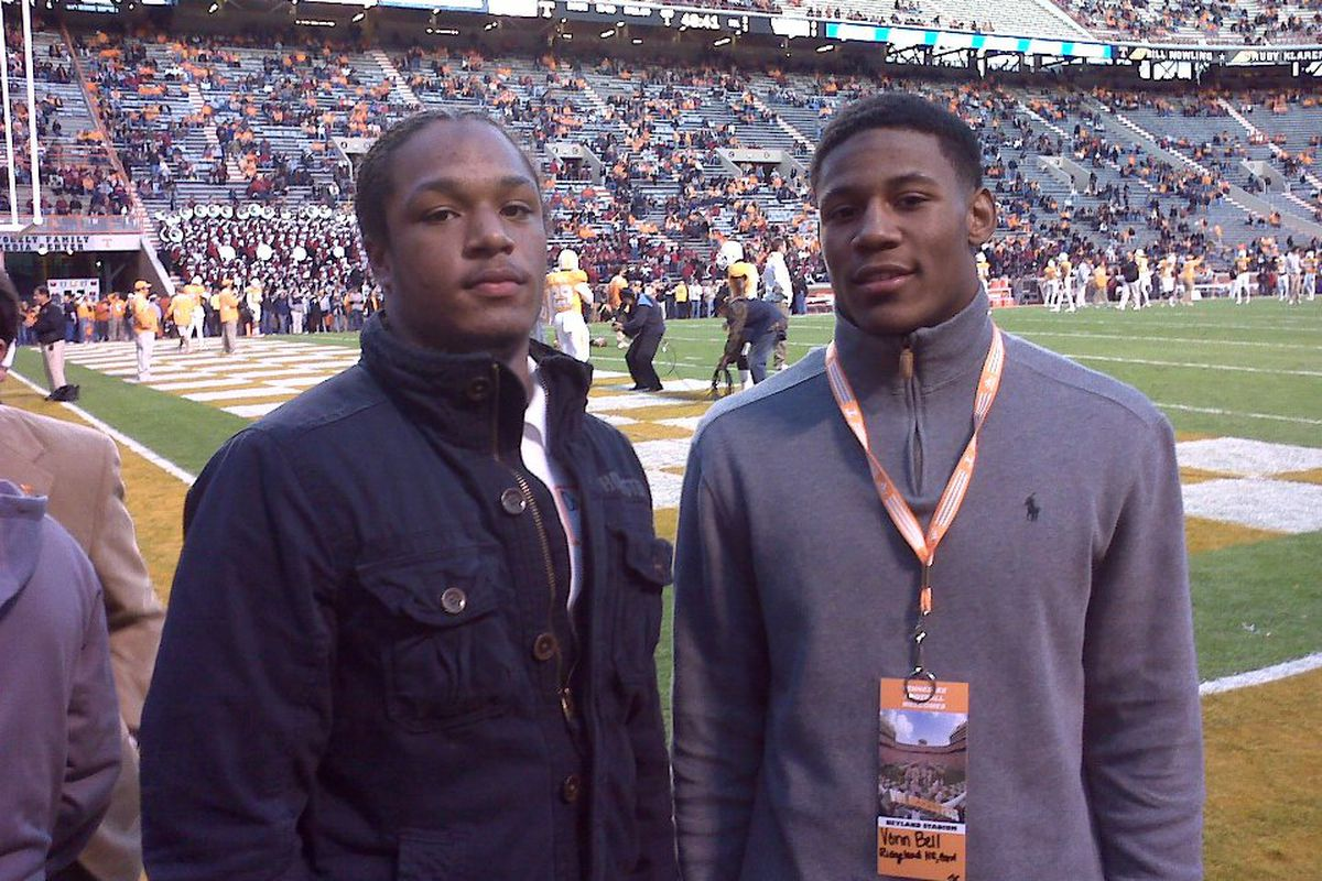 Vonn Bell enjoyed his trip to Knoxville, but he'll spend the next three years plus in Columbus.