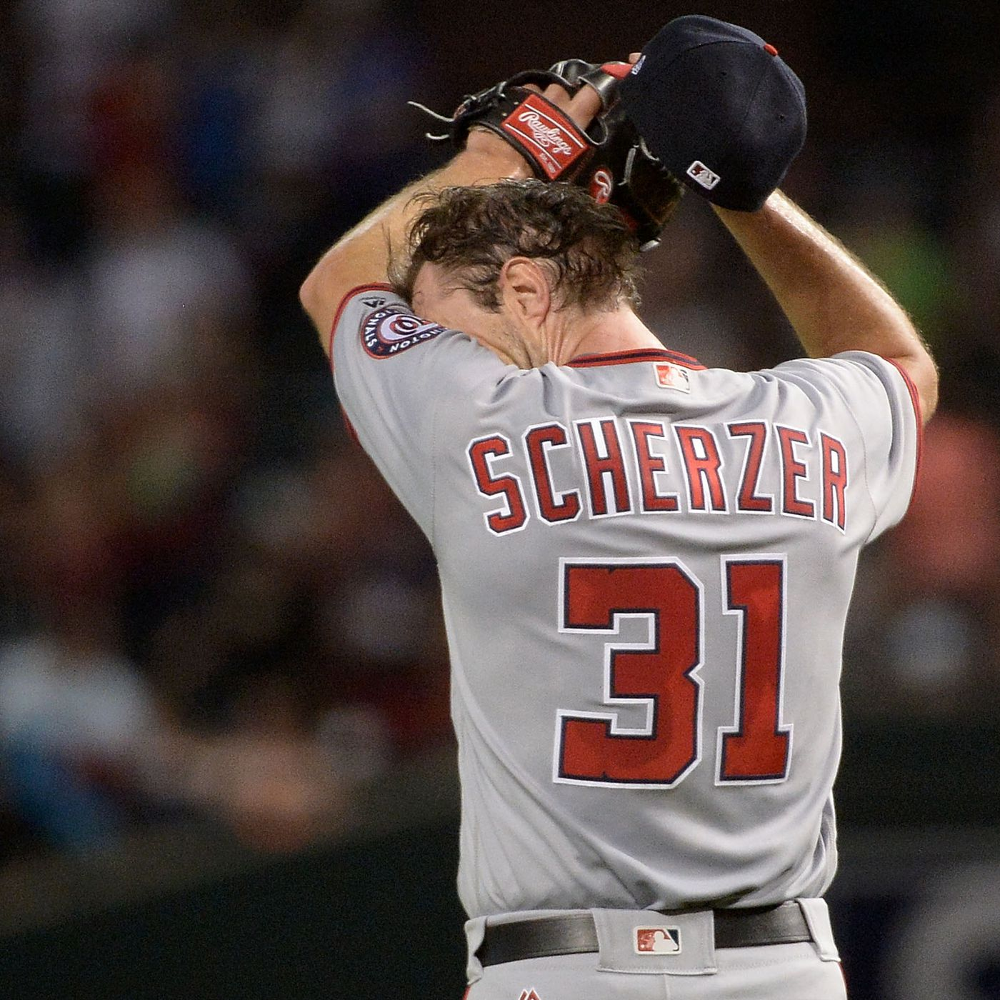 Max Scherzer gets punched in the face by back-to-back-to-back homers