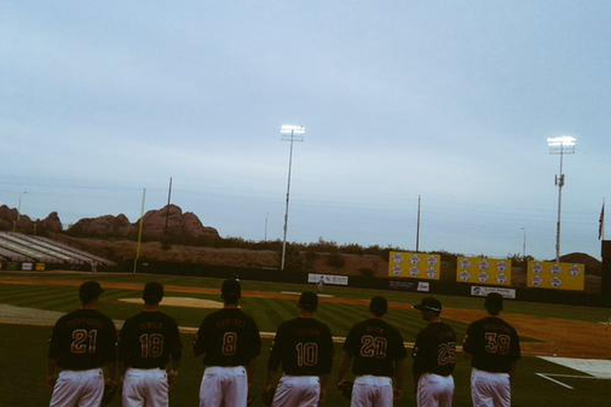 The Sun Devils Were Looking Sharp In Their Black And Copper Uniforms On Friday