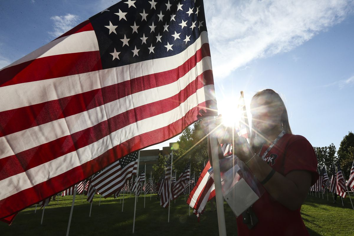 Photos: Field of flags gives Utahns a chance to heal on 9/11
