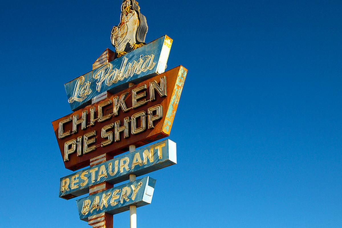 La Palma Chicken Pie Shop, Anaheim.