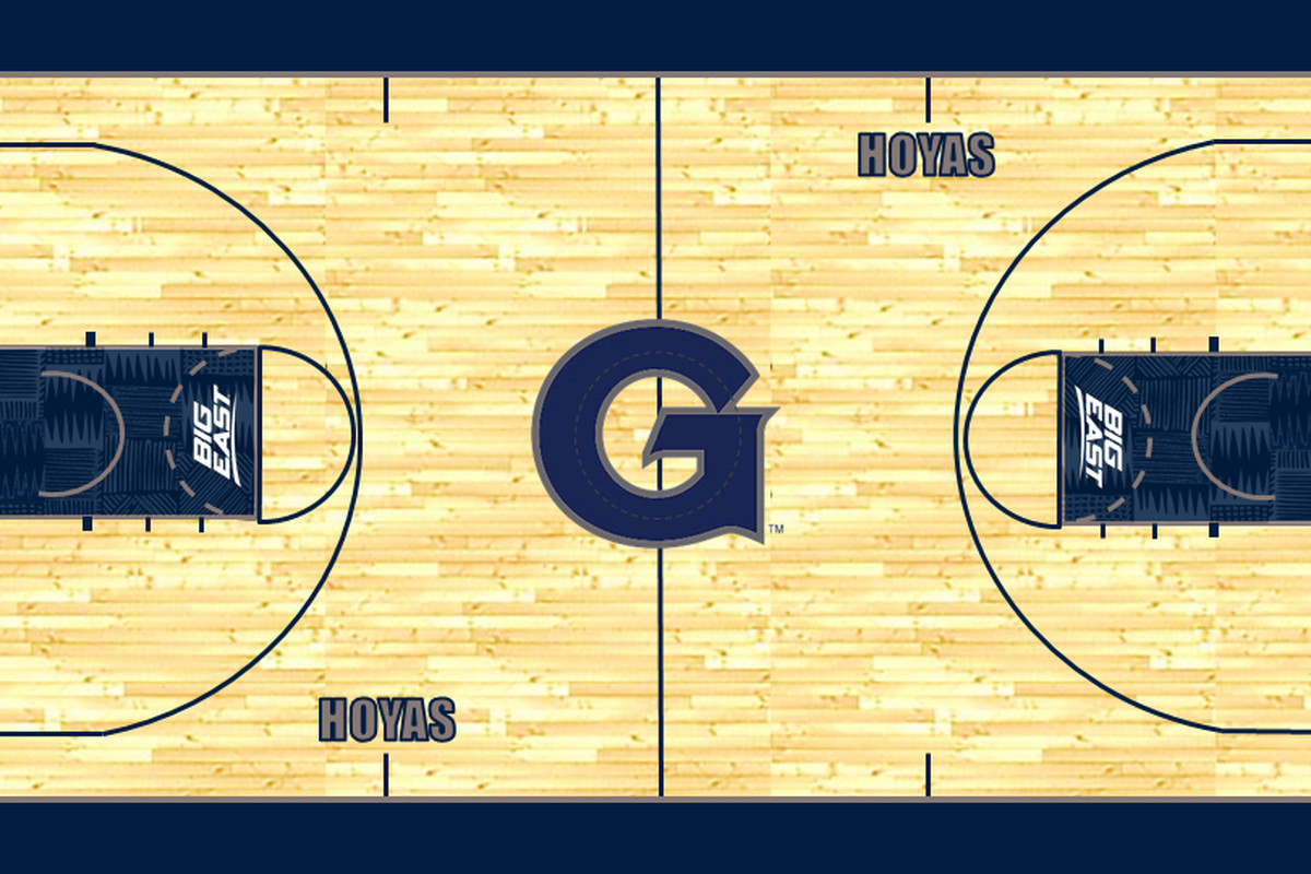 55cbccd0ca88 Here is Georgetown s New Basketball Court - Casual Hoya