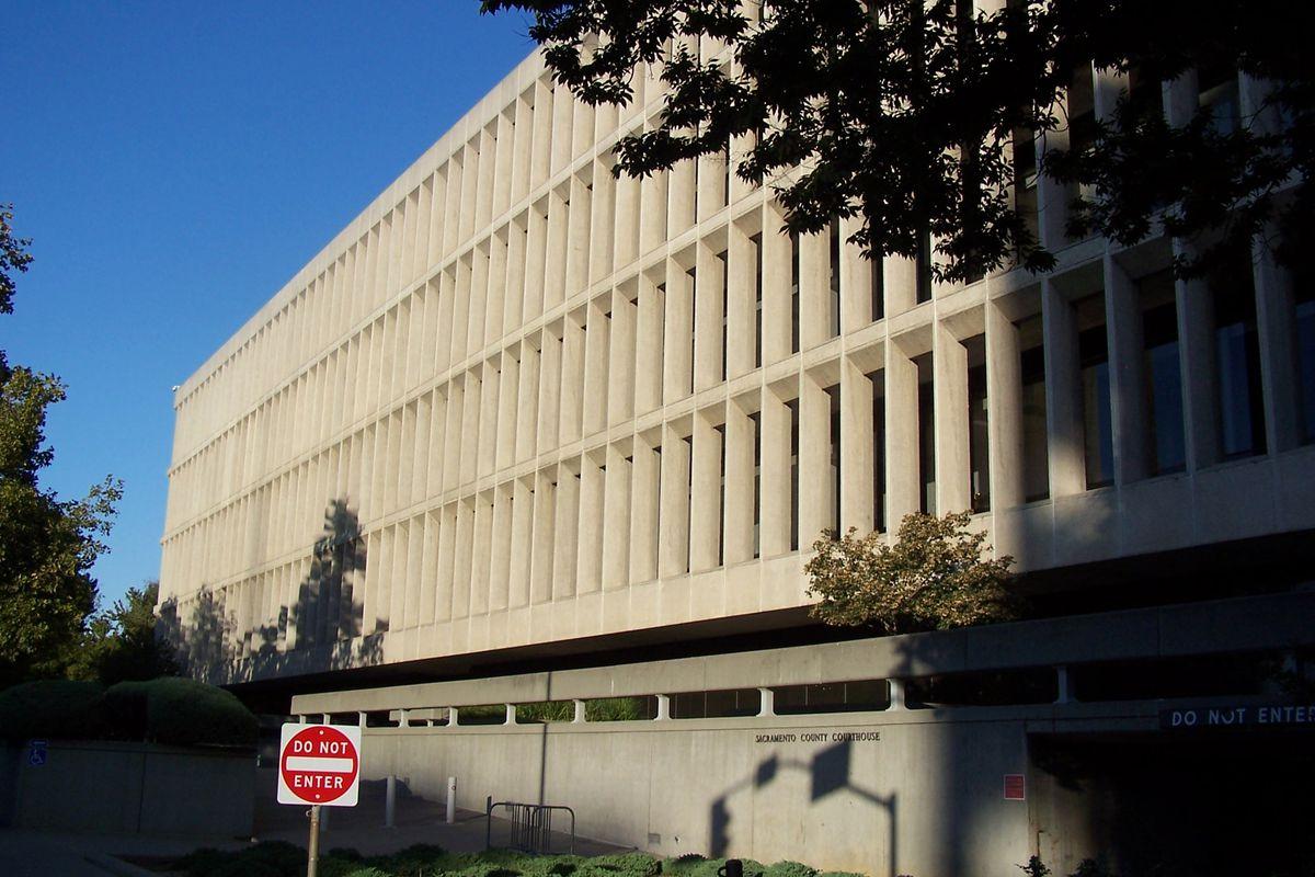 Gordon D. Schaber Sacramento County Courthouse.