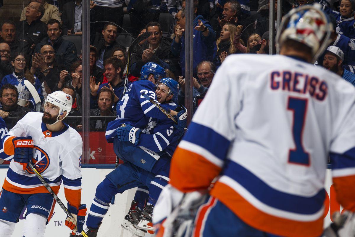 New York Islanders v Toronto Maple Leafs