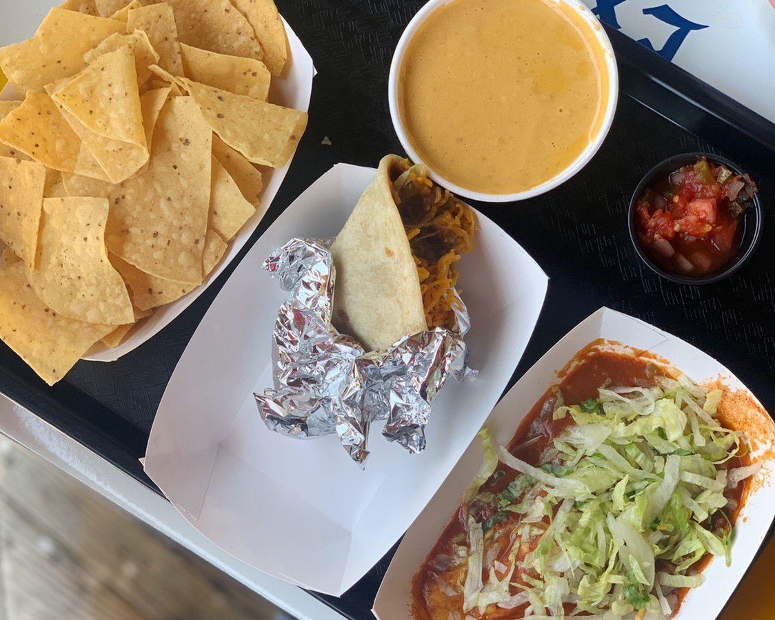 Satco queso, taco, and enchilada