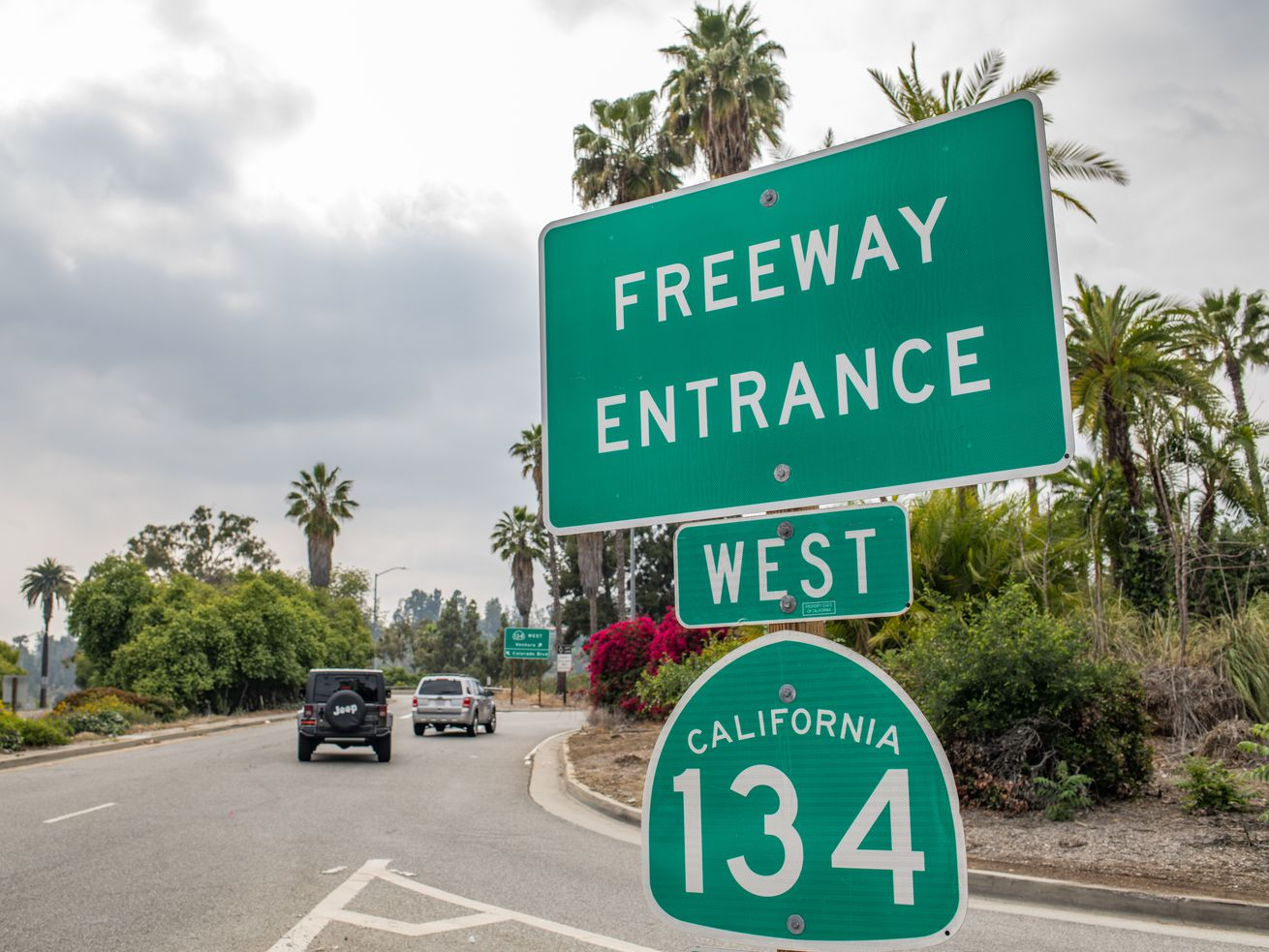 The California legislature last year approved renaming part of the 134 freeway after Obama.