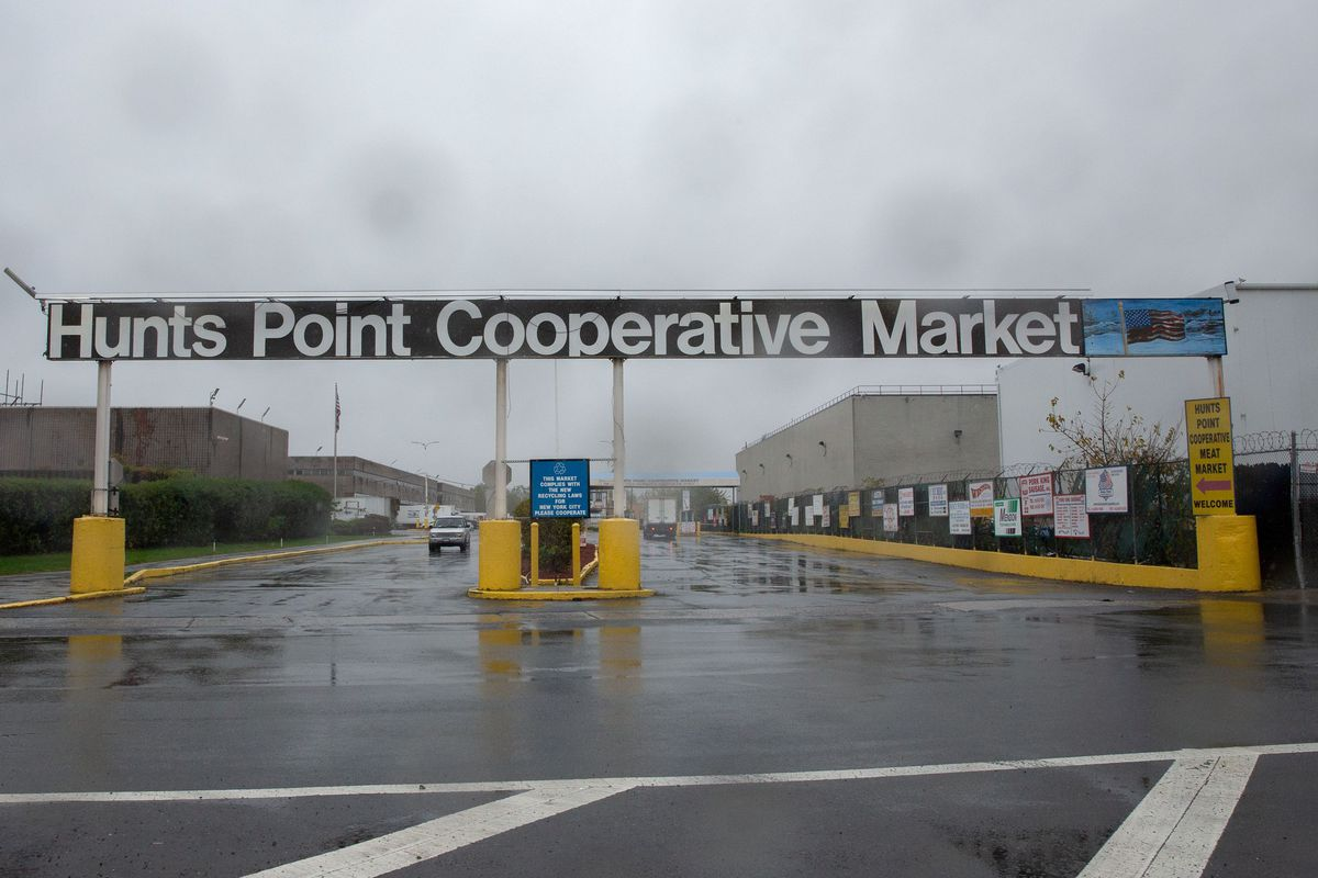 The Hunts Point Cooperative Market in The Bronx is the largest of its kind in the world.