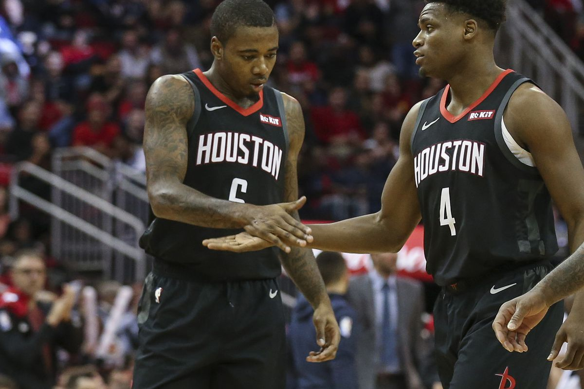 Houston Rockets Transactions  Gary Clark 11afb1d82