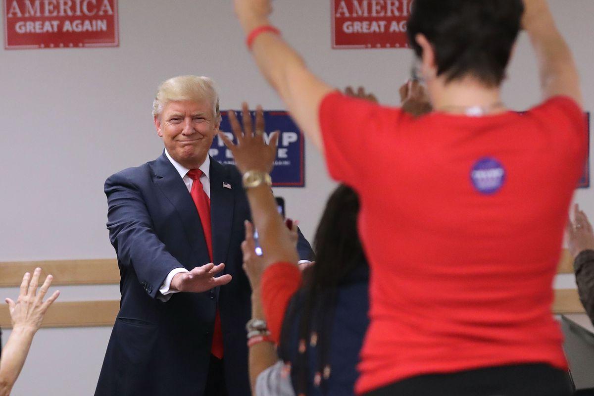 Donald Trump Campaigns In Colorado Ahead Of Presidential Election