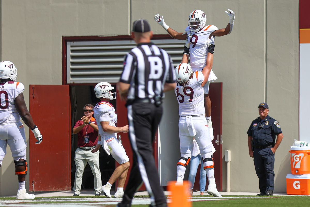 NCAA Football: Middle Tennessee at Virginia Tech