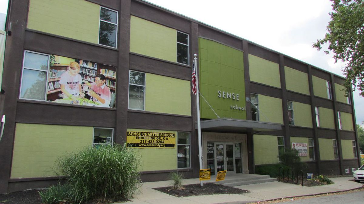 The SENSE charter school in Fountain Square has posted ISTEP gains recently after a few years of struggles.