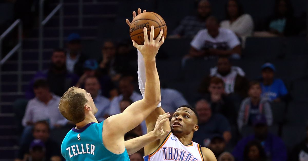 4476ce039d0a Hornets fall at home to Westbrook s Thunder