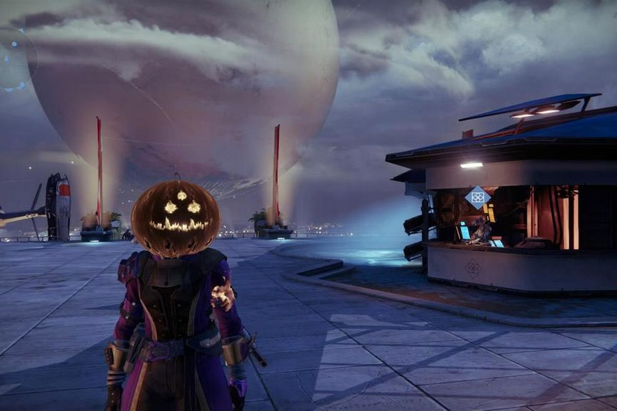 Destiny gets into the Halloween spirit with holiday-themed