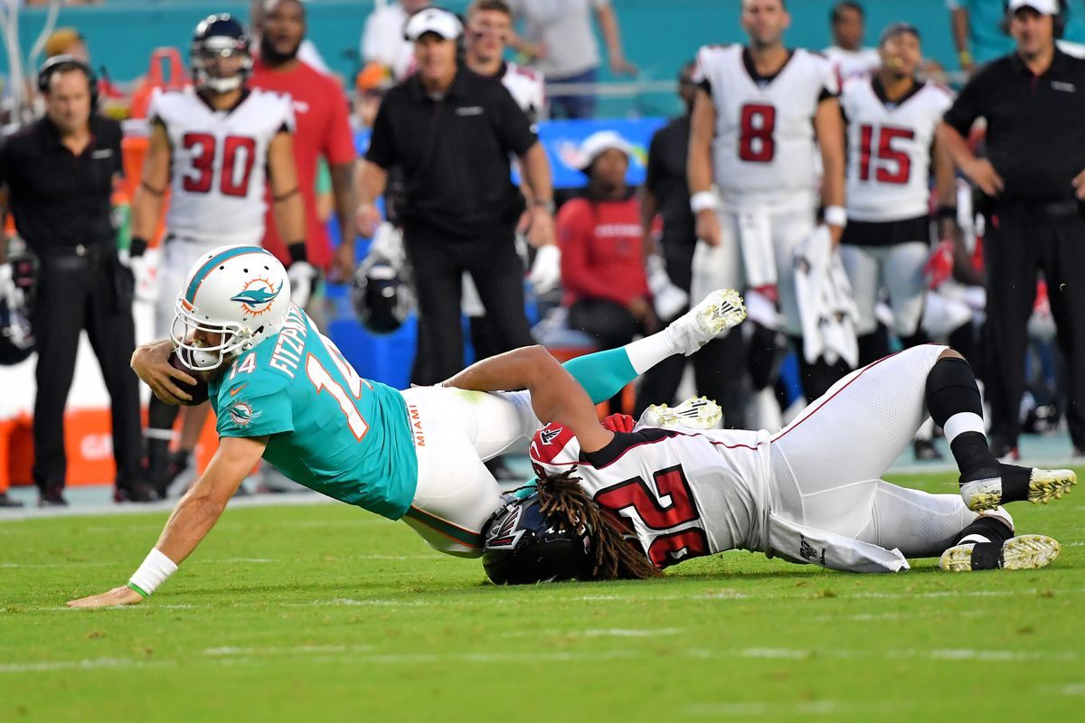 d3e96c2f Falcons - Dolphins recap: Atlanta evaluates reserves in loss - The ...