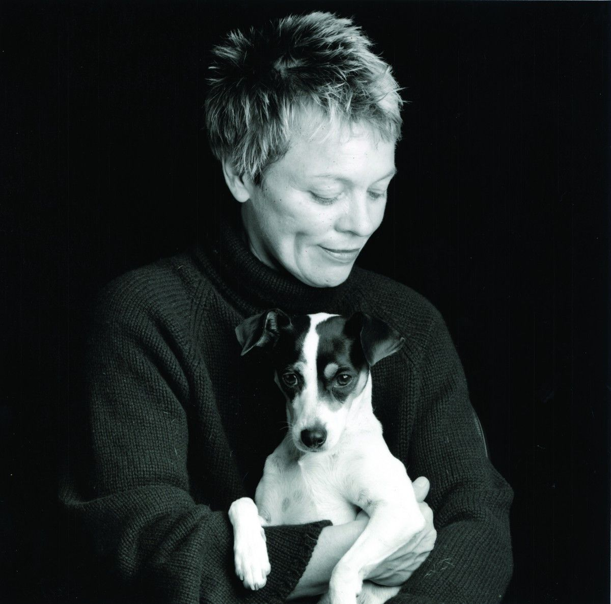 Laurie Anderson and Lolabelle   Supplied photo