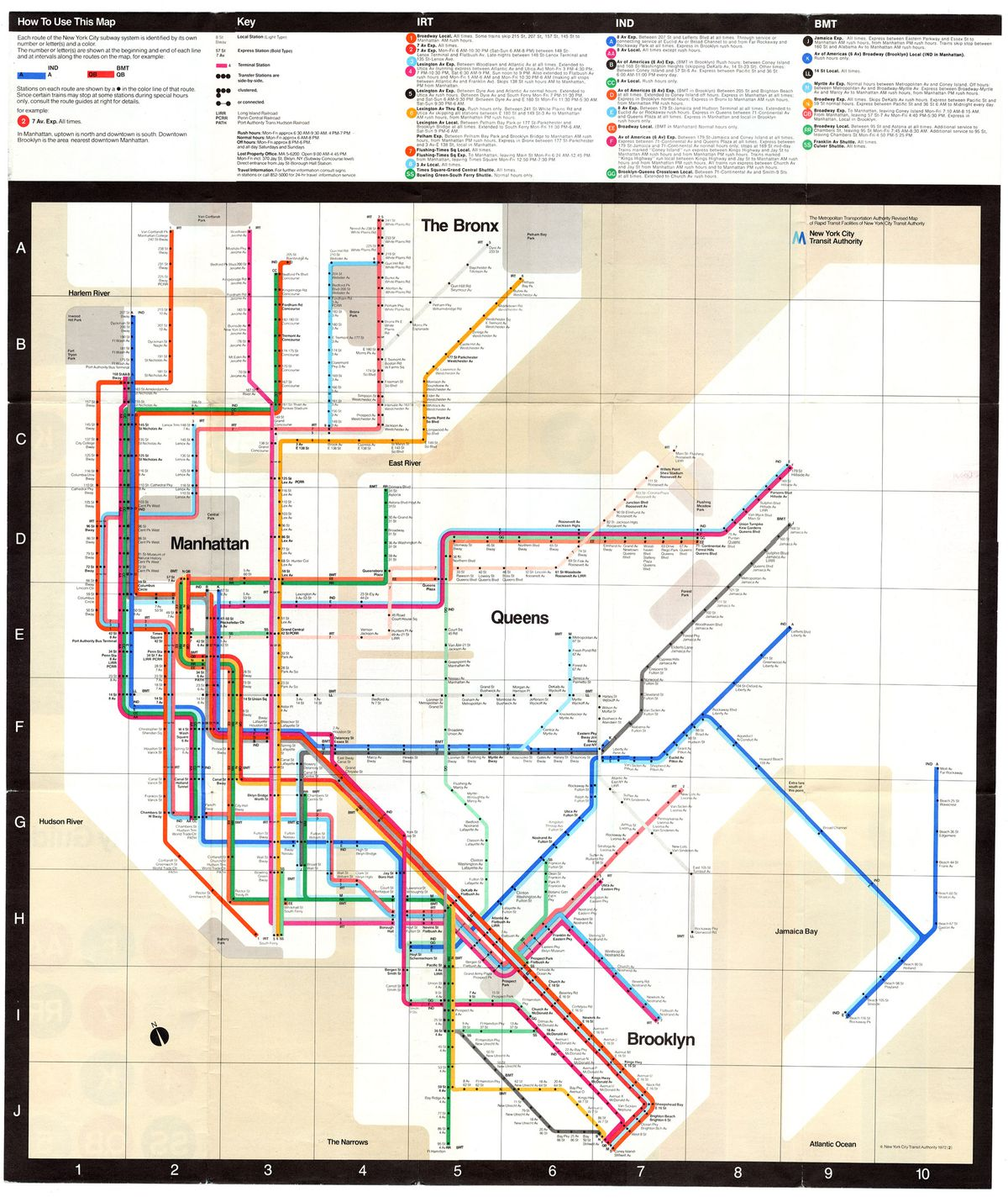 New York Subway Map Brooklyn.Nyc Subway Map S History And Influence Examined In New Museum