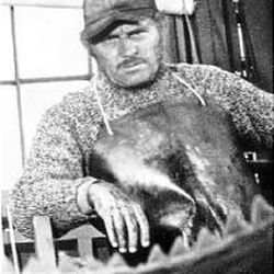 """Robert Shaw in """"Jaws."""""""