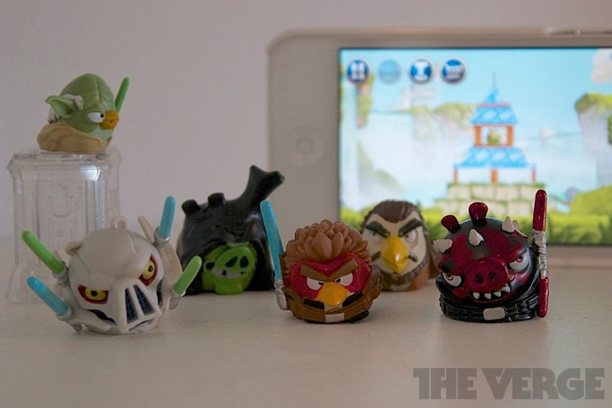 Angry Birds Star Wars Ii Adds Physical Toys But You Won T Have To