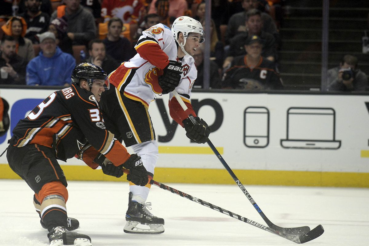 NHL: Stanley Cup Playoffs-Calgary Flames at Anaheim Ducks
