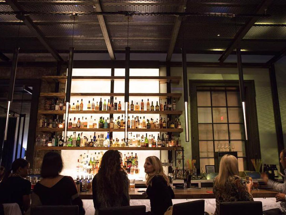 The bar at Dirty Habit.